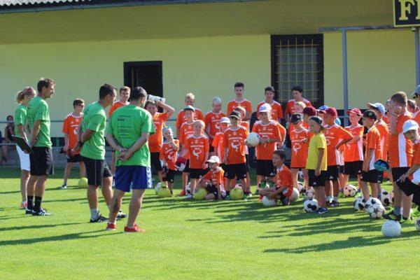 Fotbalový kemp Přerov n.L a sportovní tábor Benecko
