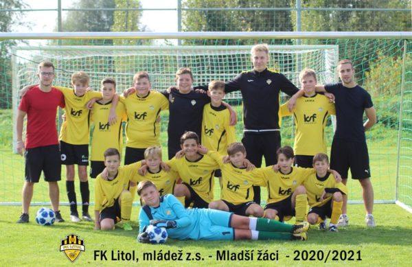 Benátky n.J. x FK Litol (ml.žáci)- přátelské utkání
